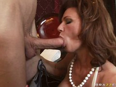 Deauxma is a hot MILF who loves putting wet dick in her mouth
