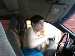 PUBLIC FLASH AT DRIVE THROUGH