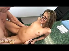 Sexy Secretary Jenna Haze Gets The Cumshawt That Babe Ever Wanted After A Hawt Fuck