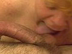 Mature Redheaded Cock-sucker