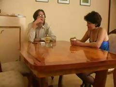 Mature Russian wife gets caught cheating with her young lover