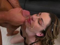 Recent Milf fucking and taking facial load