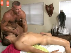 This gay boy loves getting his ass hole fingered and the drilled deep