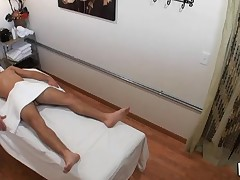 Dude really likes the way massage gets mixed with fuck