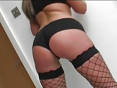 Emma Butt is fully fucked in her fishnet nylons