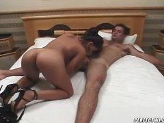 Hot Femdom Scene