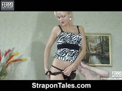 Dolly&Connor hot strapon movie