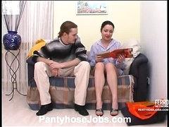 Rosa&Mike kinky pantyhose scene