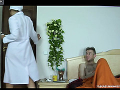 Miriam&Peter secretary pantyhose movie