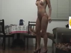 Hard core fuck on a chair