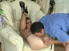 Alana&Paul nasty pantyhose movie