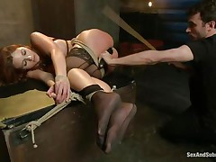 tied, dominated, and ass screwed