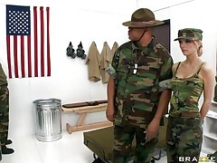 hot chicks in military school