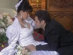 Spectacular Brunette Tania Russof Gets Fucked On Her Wedding Night