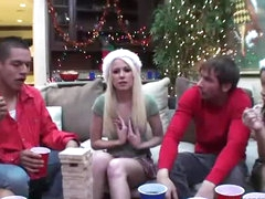 Outstanding Group Sex In Christmas Party