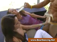 Cfnm real amateur orgy party