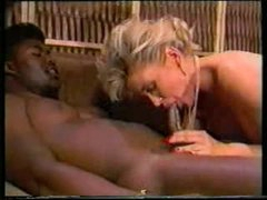 2 black guys fuck white slut in classic episode