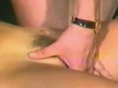 Man eats cute pussy
