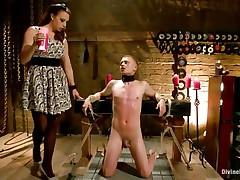 chanel preston tortures pang slut with wax