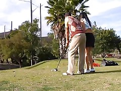 forget about golf, suck my cock!