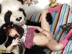 large dick panda and his girl