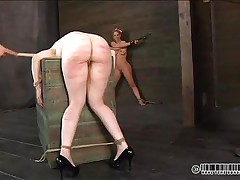 drilled up slut spanked and rubbed
