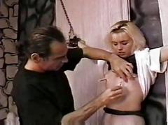 Punish a hot slave gal