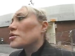 Youthful Guy Seduce A Busty Mom In The Street And Fuck Her