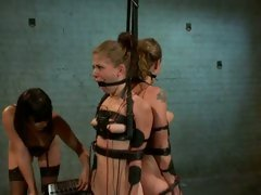 Raging Bobbi Starr tortures these horny tarts
