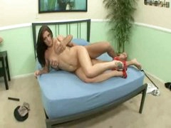 Beauty is horny as hell and making her man feel good