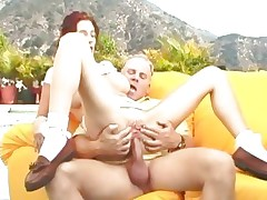Shawna Edwards enjoys a rough pussy pounding
