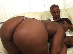 Hard black cock for a wet black cunt