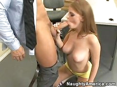 Concupiscent Student Faye Reagan Eagerly Hooks Her Face Hole On A Juicy Hard Beaver
