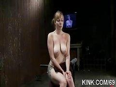 Slave hot girl entertains her husband