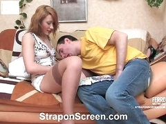 Melanie&Monty kinky strapon movie
