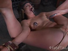 anal punishment for a naughty milf