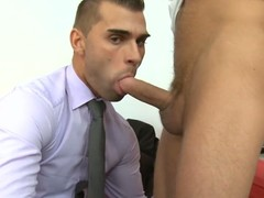 Unfathomable anal drilling session for sophisticated homo stud