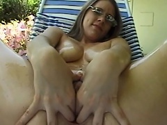 Acquire ready to be entertained by this luscious brunette beauty as she...