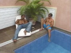 Two guys entice tgirl outdoors