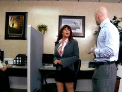 Boss Fucks His Secretary In The Office