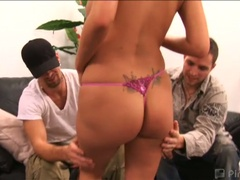 Monster tits carly parker naughty with kris slater and kris knight