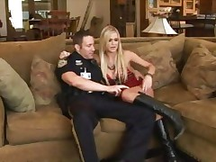 Naughty hotty Mckenzie Miles is picked up and cop screwed