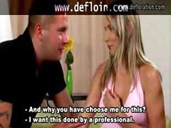 Real act of defloration