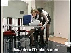 Rosa&Ninette outstanding anal lesbian movie