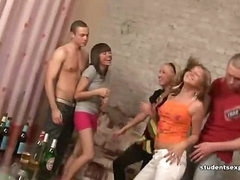 Provide Yourself with Sperm before Hot Student Party