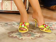 Sophia&Morris phat nylon feet movie