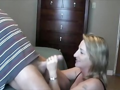Wife Satisfies Horny Husband