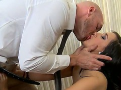 Johnny Sins is the head of casting commission and that guy wants to check Valerie Kays pussy potential