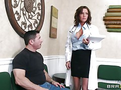 horny milf doc gives head