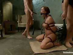 bounded babe have greatest sex from her life